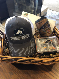 Lakestream Fly Fishing half-day float fishing trip and goodies