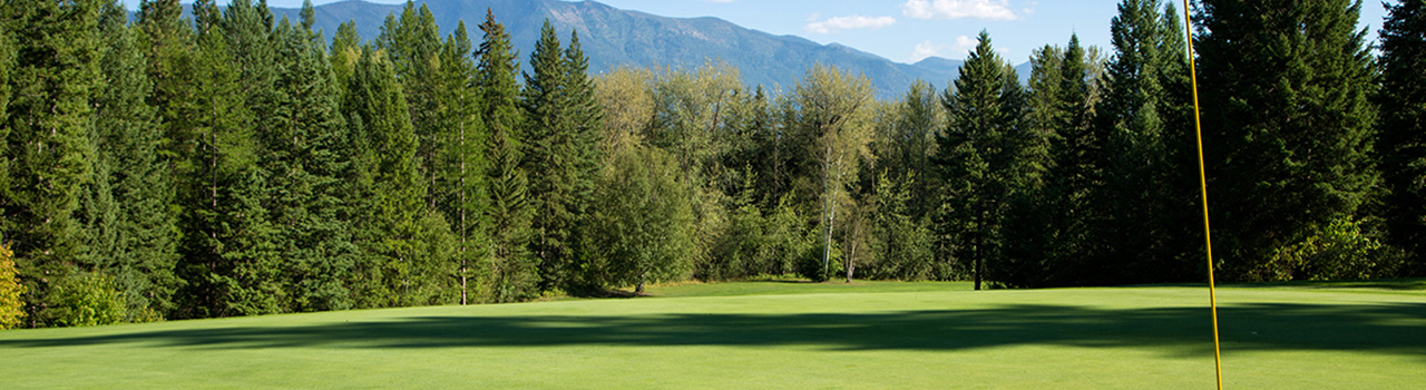 Golf course near Whitefish