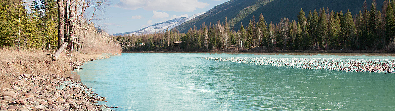 Flathead River frontage for sale